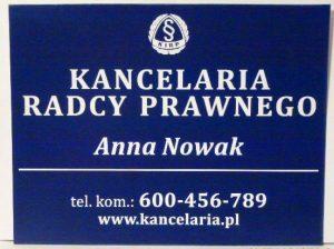 TABLICA Laminat  21×30 cm