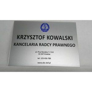 Acrylowa tablica 30,5×61 cm (kolorowa)