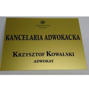 Acrylowa tablica 20×30 cm (kolorowa)