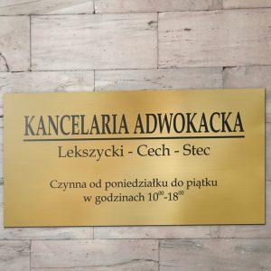 TABLICA Laminat  10×20 cm