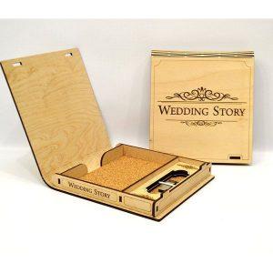 Pudełko ozdobne na chrzest, pierwsza komunia, wesele (model A502)