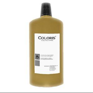 Tusz COLORIS 8710 do metalu, tworzyw, skóry ZŁOTY 1L