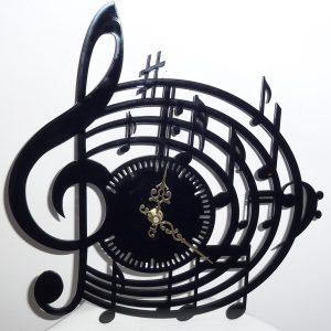 """Zegar ścienny """"Nuty"""" (model G-Z-004)"""